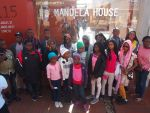 Students at Mandela House